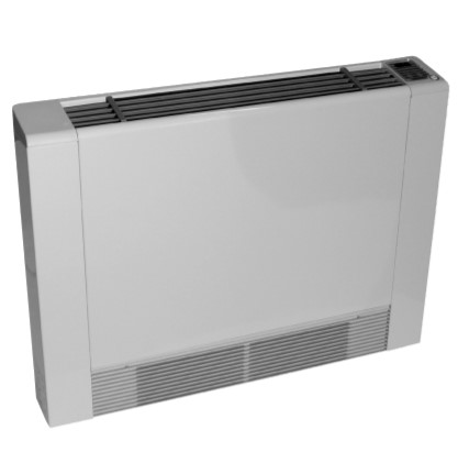 Air to water fan coil