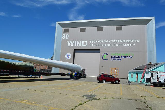 MassCEC's Wind Technology Testing Center in Charlestown